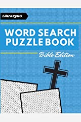 Word Search Puzzle Book: Bible Edition Paperback