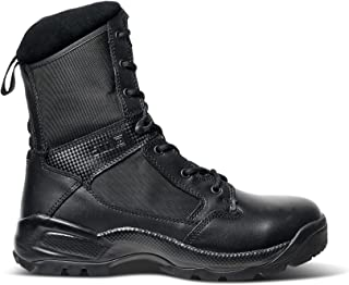 """5.11 Men's ATAC 2.0 8"""" Military Tactical Boot, Side Zip, Knife Pocket, Style 12391"""