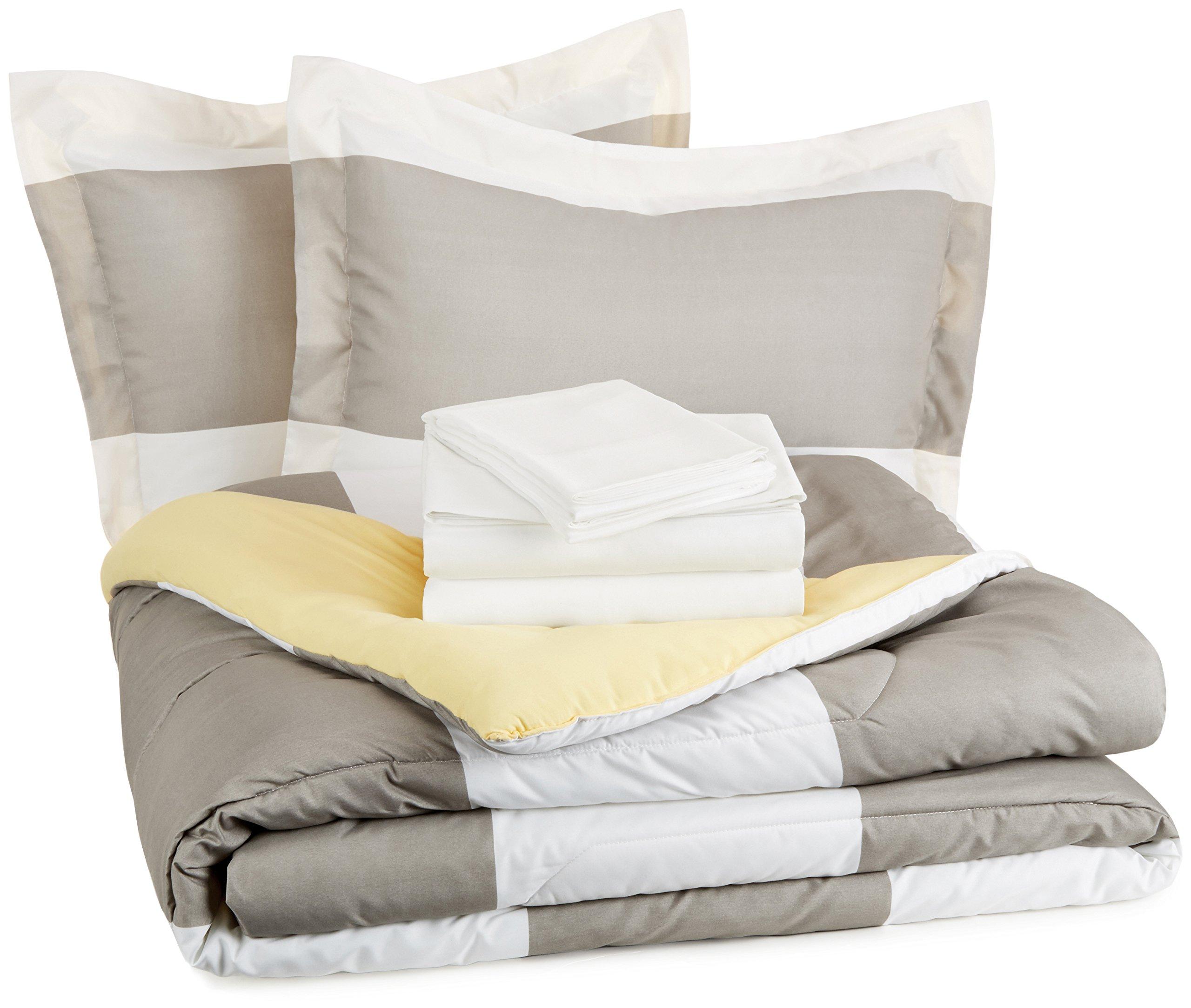 AmazonBasics 7 Piece Bed Bag Reversible