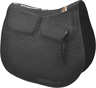 ECP Cotton Correction All Purpose Saddle Pad - Memory Foam Pockets