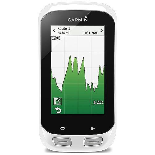 Garmin - Edge Explore 1000 – Compteur GPS de vélo - Grand écran couleur tactile 3'' - Blanc