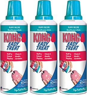 KONG Stuff'N Easy Treat 8-Ounce Puppy (Pack of 3)