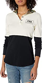 Fox Junior`s Satellite Long Sleeve Knit Pullover Hoody
