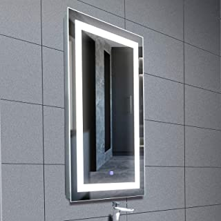 anti fog led mirror