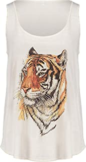 FASHIONOMICS Womens Funny Graphic Fitness Workout Tank Tees Top