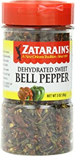 Zatarain's Dehydrated Sweet Bell Pepper, 3 Ounce (Pack of 4)