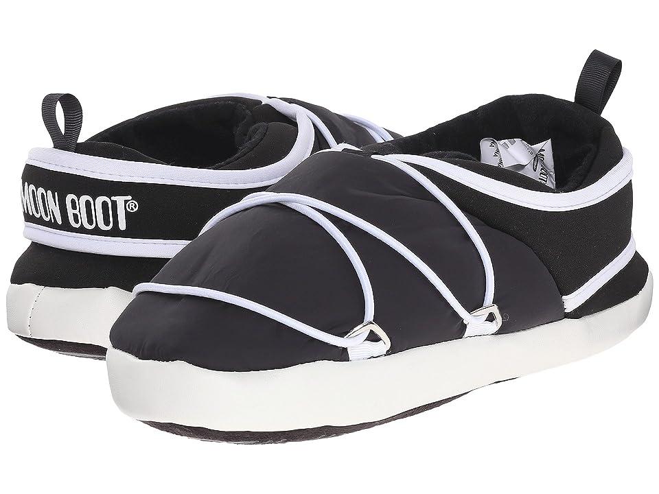 Tecnica Moon Boot(r) Apollo Slipper (Black) Cold Weather Boots