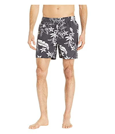 Reyn Spooner Washed Waiola Swim Trunks (Stretch Limo) Men
