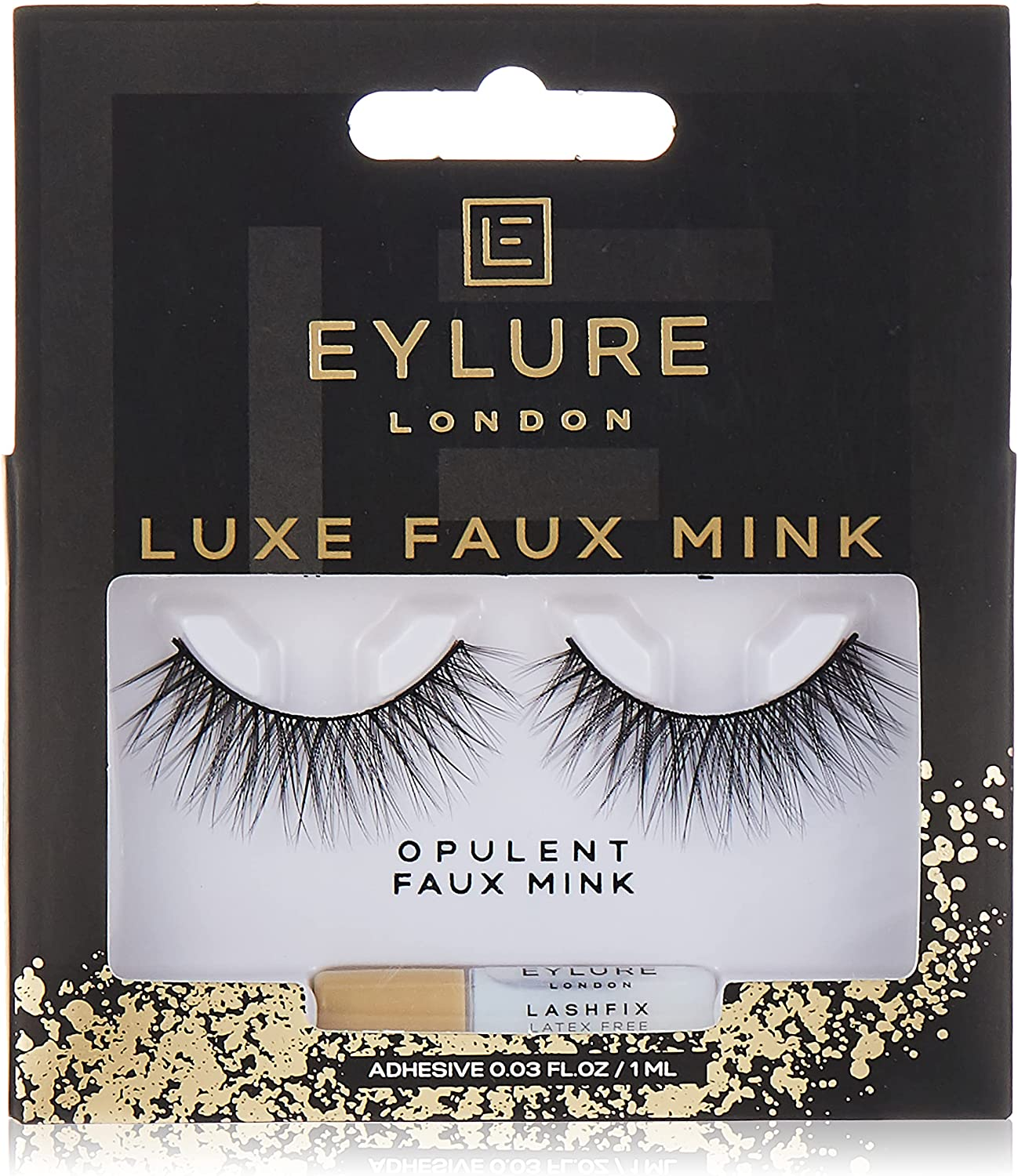 Selling and selling Eylure Mail order Faux Mink Eye Lashes Reusable Included Adhesive Baroqu
