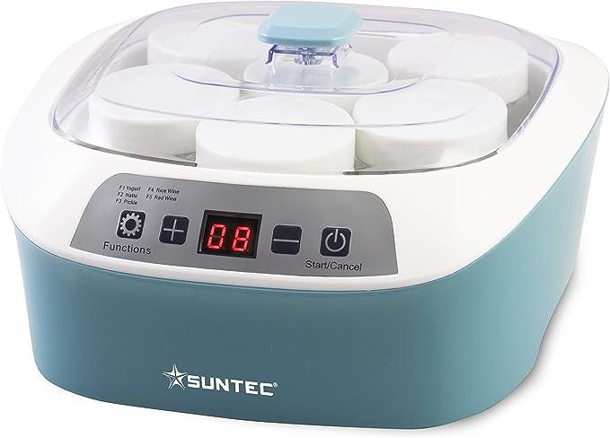 281 opinioni per SUNTEC Macchina per yogurt YOG-8588 digital [Per yogurt/vino/kimchi/natto fatto