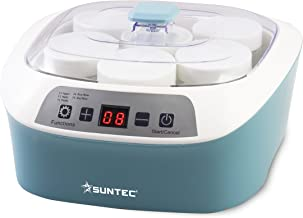 SUNTEC Yaourtière YOG-8588 digital Idéal Pour des Desserts Lactés Fromages Blancs Yaourts/Vin/Kimchi/Natto, etc. faits mai...