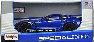 Maisto 31516BL 2017 Chevy Corvette Grand Sport Blue Die Cast Car
