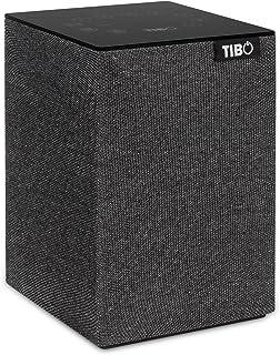 TIBO Choros 2 |Wi-Fi & Bluetooth Speaker | Multi Room Hi-Fi Speaker with Internet Radio | Grey