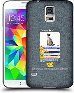 Official Top Trumps Devon Rex Cats Hard Back Case Compatible for Samsung Galaxy S5 / S5 Neo