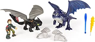 DreamWorks Dragons, Toothless & Hiccup Vs. Armored Dragon Figures