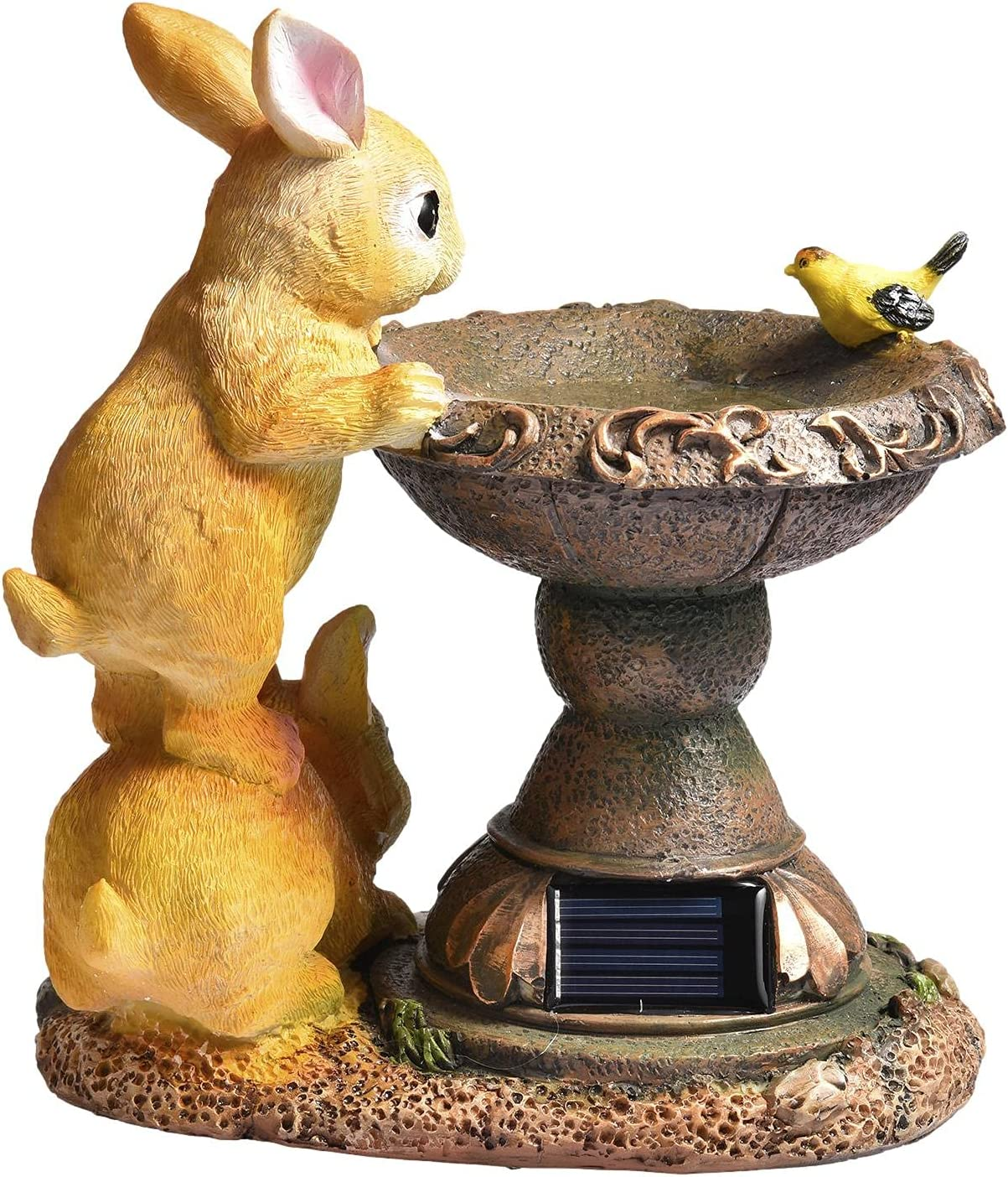 Rabbit Solar Garden Statue Online Super beauty product restock quality top! limited product Waterpro Powered Light