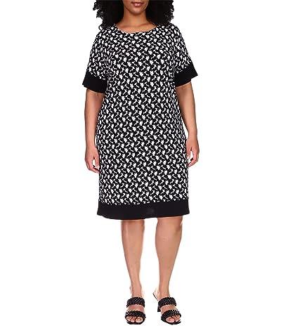 MICHAEL Michael Kors Plus Size Sixties Border Dress Women