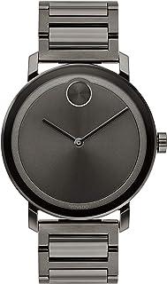 Movado Evolution Gunmetal Watch (Model: 3600509)