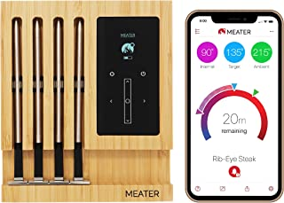 MEATER Block | Premium Wireless Smart Meat Thermometer for The Oven Grill Kitchen BBQ Smoker Rotisserie with Bluetooth and...
