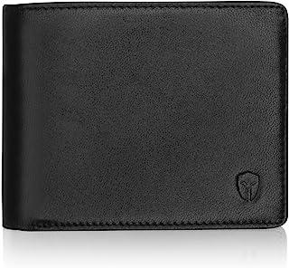 Bryker Hyde Men's 2 ID Window RFID Wallet Bifold Wallet Medium Black - Sheepskin Leather