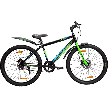 Hercules Flunk RF 26 T Single Speed Road Cycle (Ideal for : 12+ Years ,Brake : Disc )