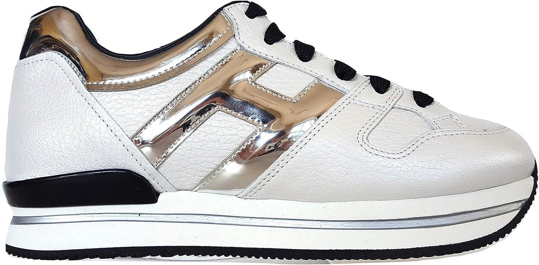 Hogan Scarpe Sneakers Donna H222 Allacciato H Grande ...