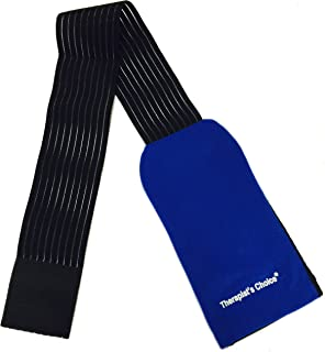 Therapist's Choice® Ice Wrap/Cold Wrap can hold ANY ice and gel pack up to 5 x 10 inches - Ice Pack NOT Included