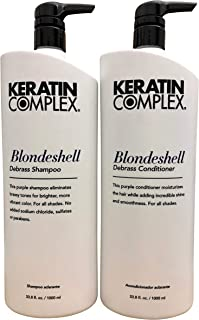 Keratin Complex Blondeshell Shampoo & Conditioner 33.8 OZ Set