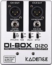 Kadence DI20 Professional Active 2-Channel DI-Box/Splitter