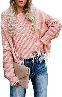 Douremifa Womens Fashion Open Front Long Sleeve Sweaters Cardigan Casual Loose Coat Outwear