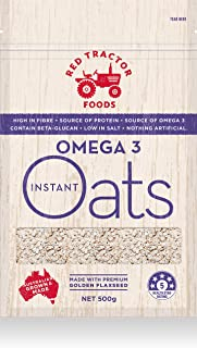 Red Tractor Foods, Omega 3 Instant Oats, 500g