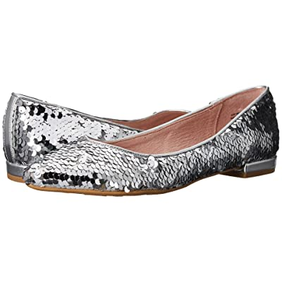 Chinese Laundry Gavin Flat (Silver Sequins) Women