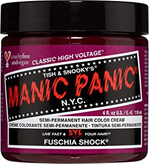 Manic Panic - Fuschia Shock Classic Creme Vegan Cruelty Free Semi-Permanent Hair Colour 118ml