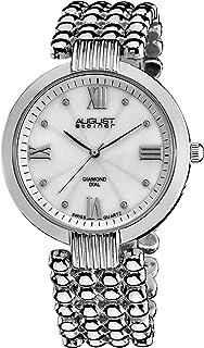 August Steiner Women's Marquess Analogue Display Quartz Watch with Alloy Bracelet