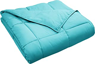 turquoise and green comforter