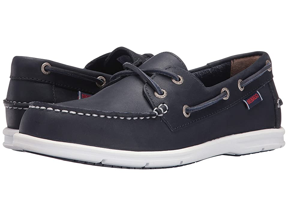 Sebago Liteside Two Eye (Navy Leather) Women