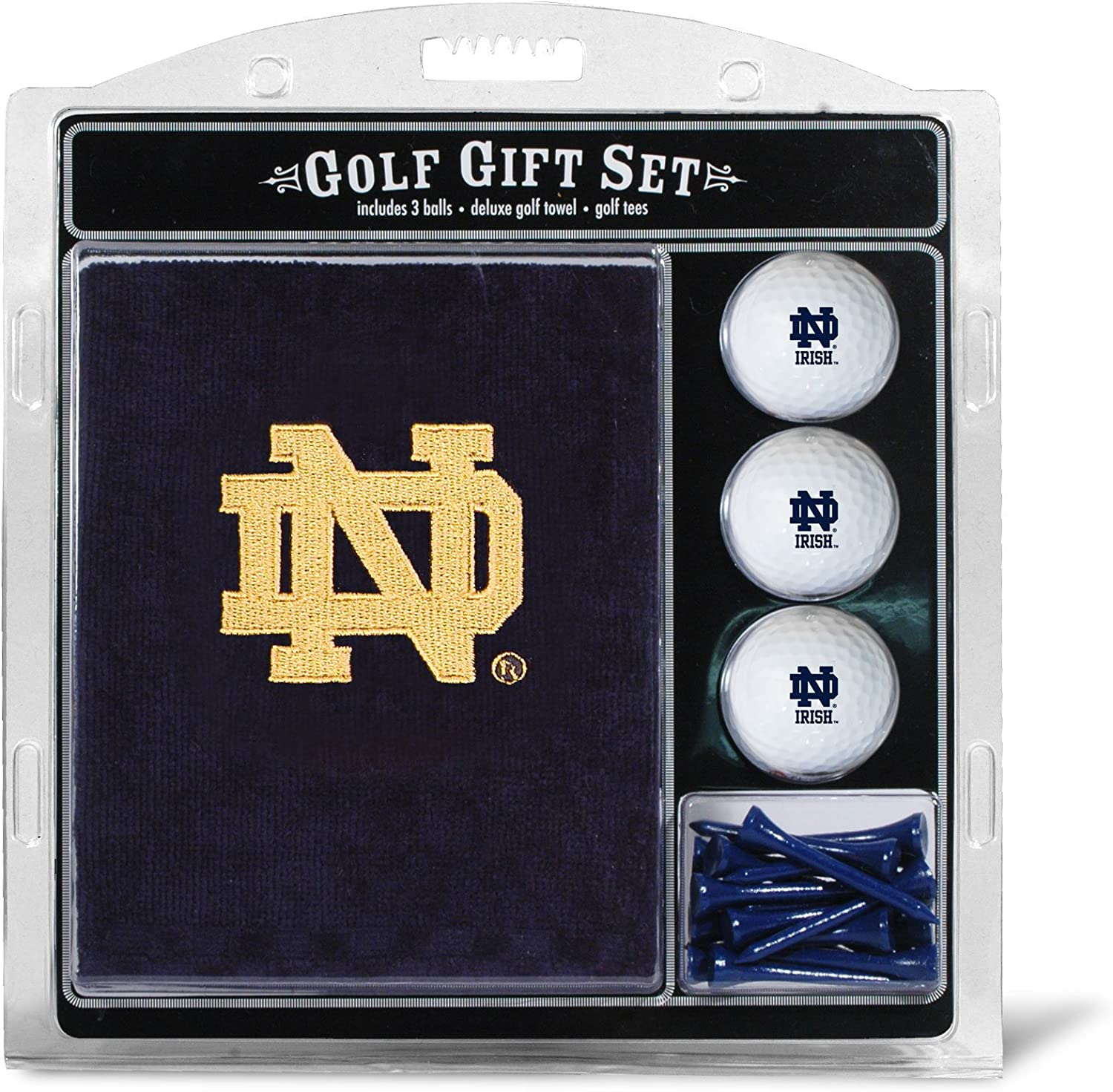 TEAM GOLF NCAA Unisex Embroidered Outstanding Golf 3 Ball G Towel and Same day shipping