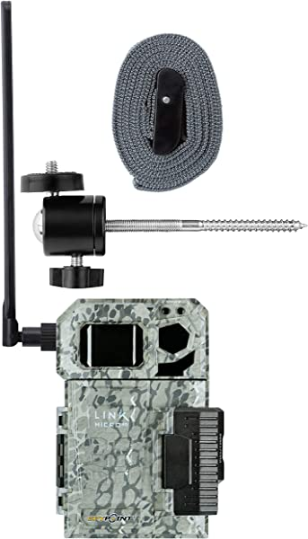 Spypoint Link Micro 4G Cellular Trail Camera With Mount AT T USA