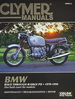 Clymer Repair Manual for BMW R-Series 70-96