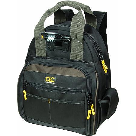 CLC Custom Leathercraft L255 Tech Gear 53 Pocket Lighted Back Pack , Black