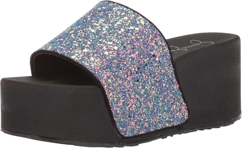 Jessica Simpson Womens Faille2 Slide Sandal