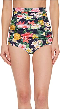 Unique Vintage - Monroe High-Waist Swim Bottom