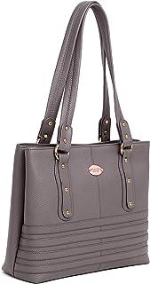 WILDHORN Upper Grain Genuine Leather Ladies Shoulder Bag   Hand Bag   Shopping Bag for Girls & Women.
