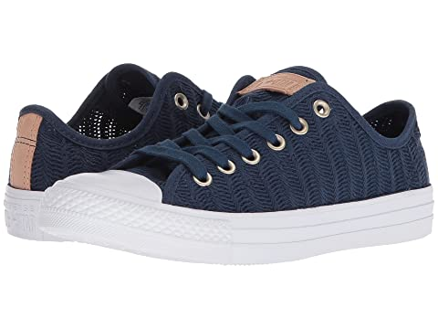 Low Shipping Online Converse Chuck Taylor® All Star® Ox - Herringbone Mesh Navy/Tan/White 2018 Cheap Price Outlet Cheap Price Excellent For Sale Cheap Geniue Stockist kTm9Dj0wMG