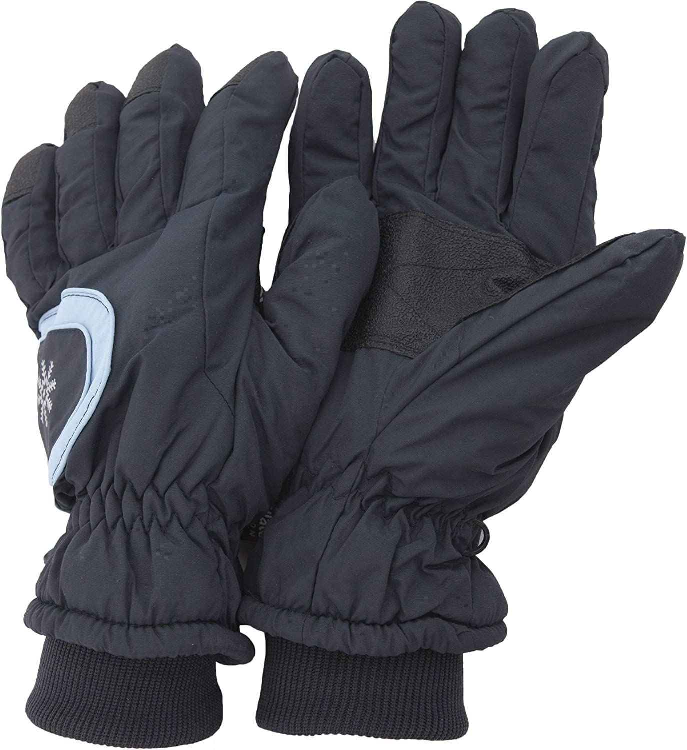 Ladies/Womens Extra Warm Thermal Padded Winter/Ski Gloves With Grip (One Size Fits All) (Navy)