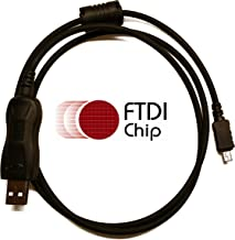 BlueMax49ers FTDI USB Programming Cable and CPS Installation Support for Motorola Mag One A10, Mag One A12, CP110 EP150 RDU2020 RDU2080D RDU4100,RDU4160D RDV2020 RDV2080D RDV5100 XTNi XTNi-D RKN4155