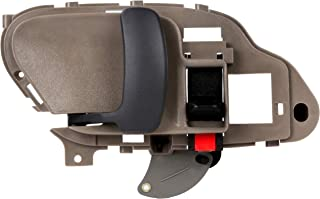 BOXI Beige Interior Front/Rear Left Door Handle Driver Side for 1995 1996 1997 1998 1999 2000 2001 2002 Chevrolet GMC C1500 C2500 C3500 K1500 K2500 K3500 Pickup Suburban Chevy Tahoe 15708051,77570