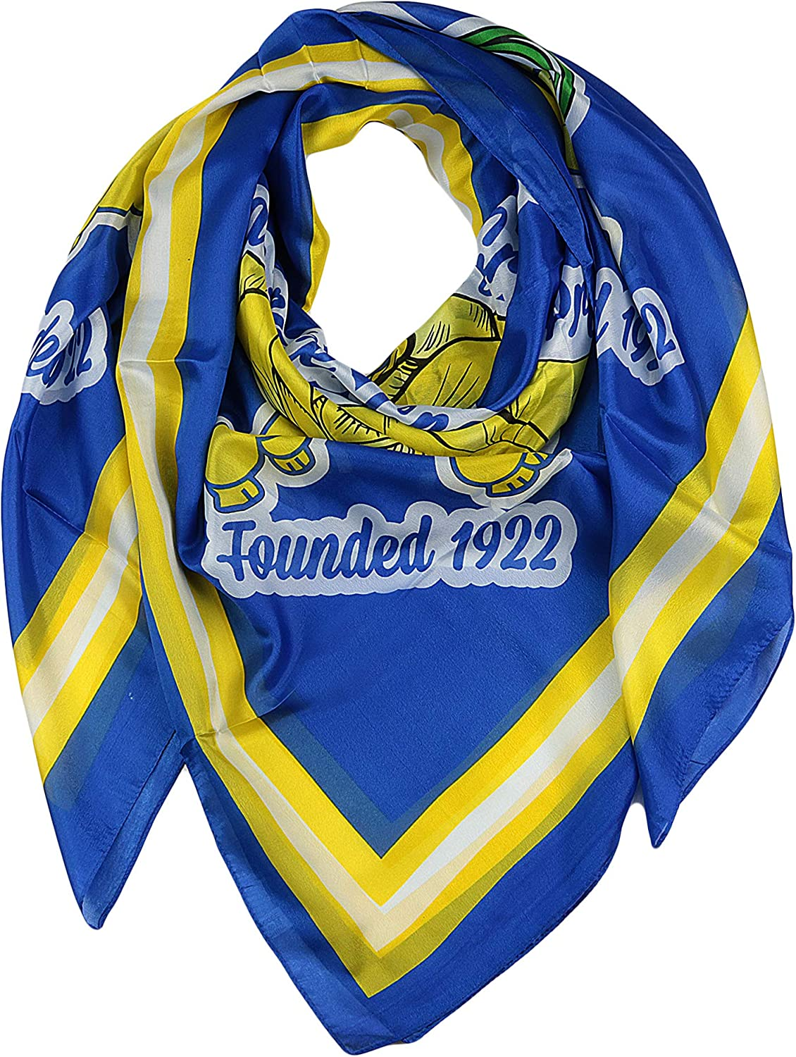 DWO Women's Royal Blue and Gold Silk Gamma Rho Sigma Faux Today's Don't miss the campaign only Square