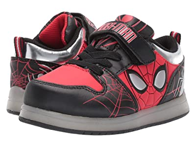 Favorite Characters Spidermantm Walk Motion CL SPF378 (Toddler/Little Kid) (Red) Boy