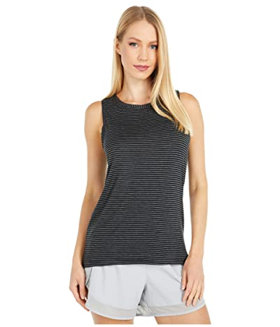 Jockey Active Breeze Tank (Deep Black) Women